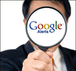 Google Alerts online marketing
