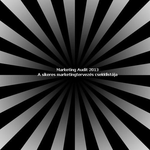 Marketing tervezés - A marketing terv auditja