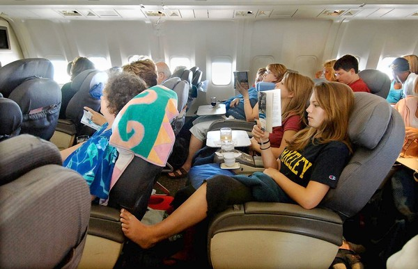 Airline seat comfort